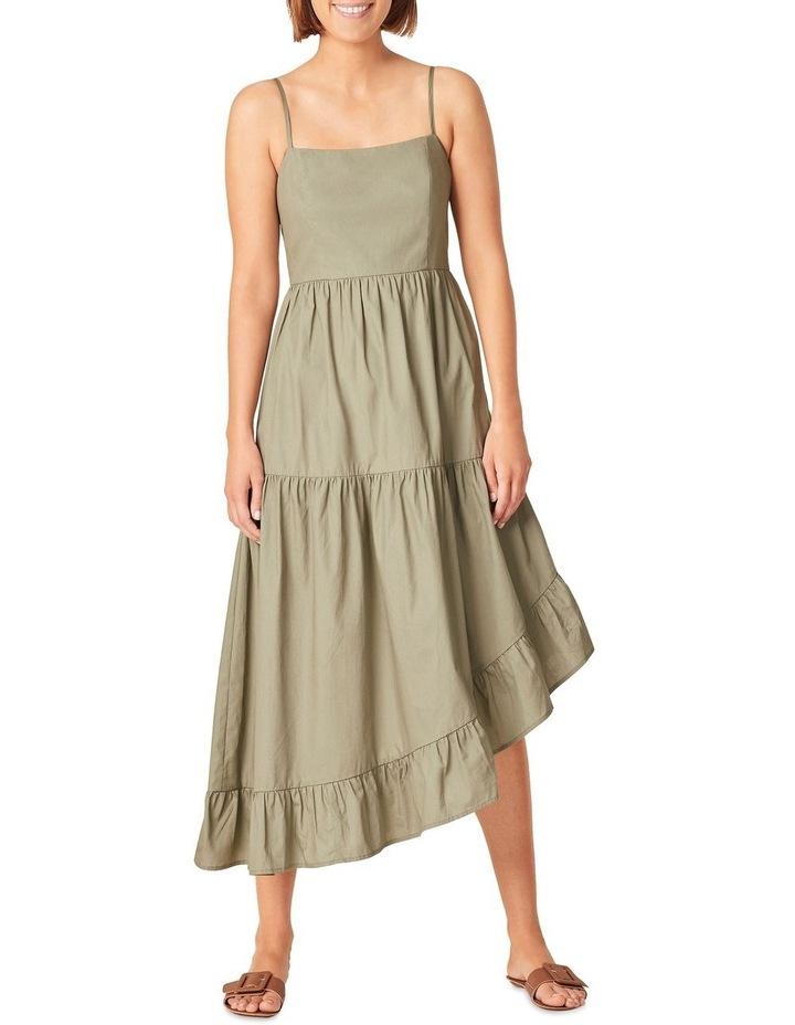 Asymmetrical Cotton Dress image 1