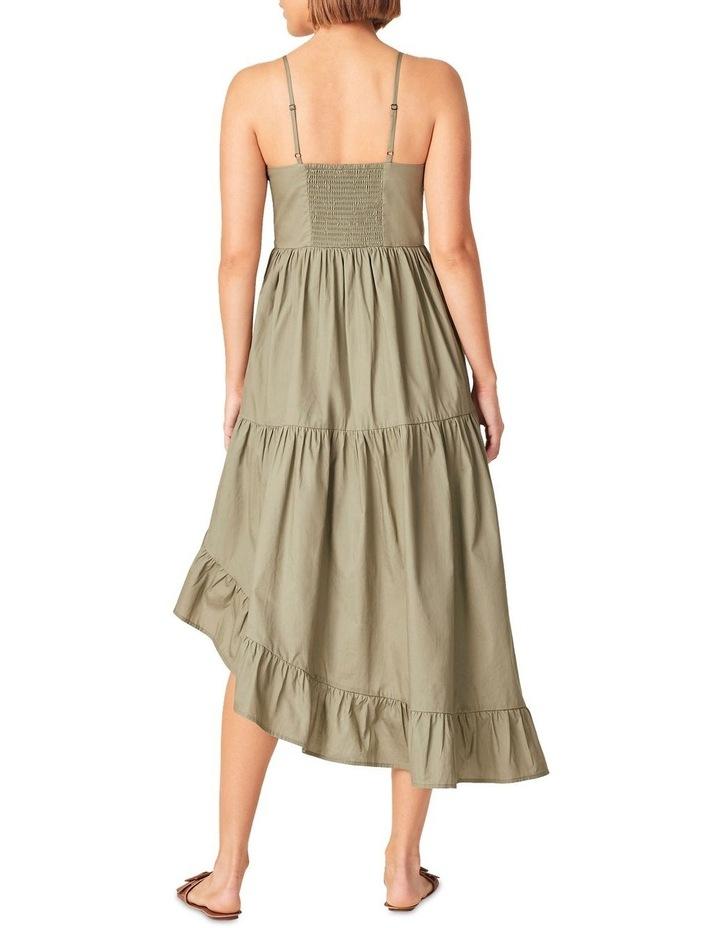 Asymmetrical Cotton Dress image 3