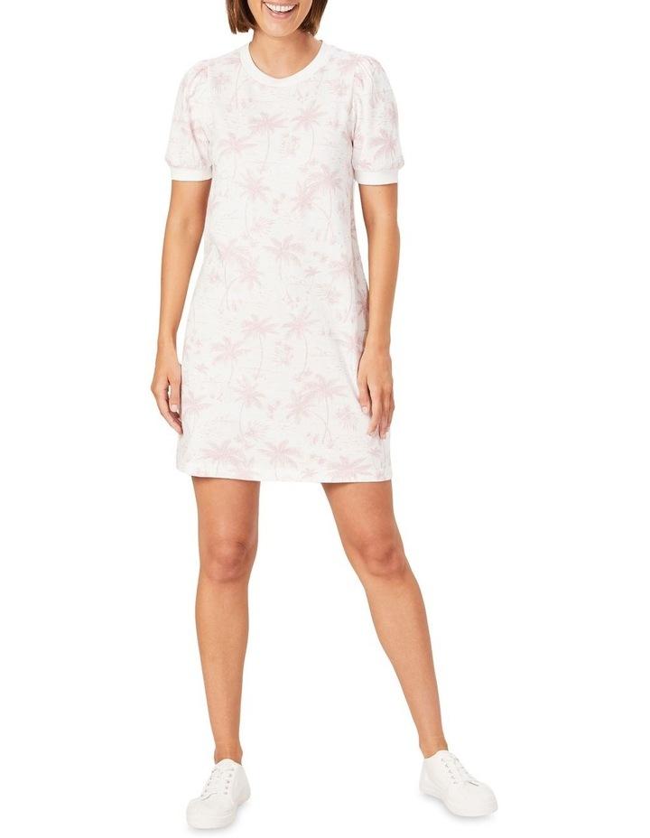 Tropical Print Sweat Dress image 2