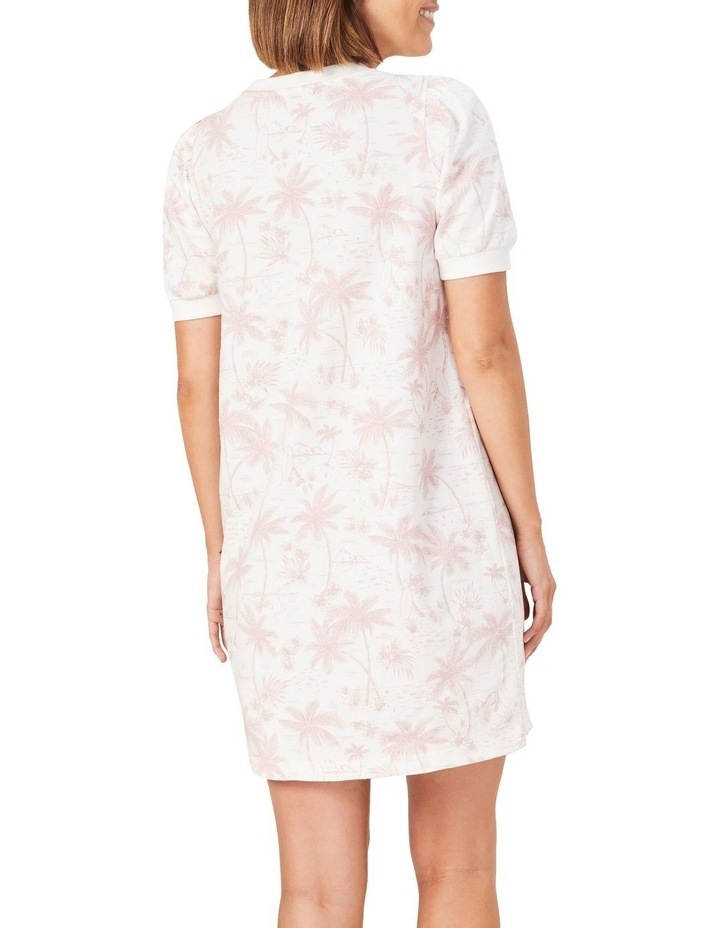 Tropical Print Sweat Dress image 3