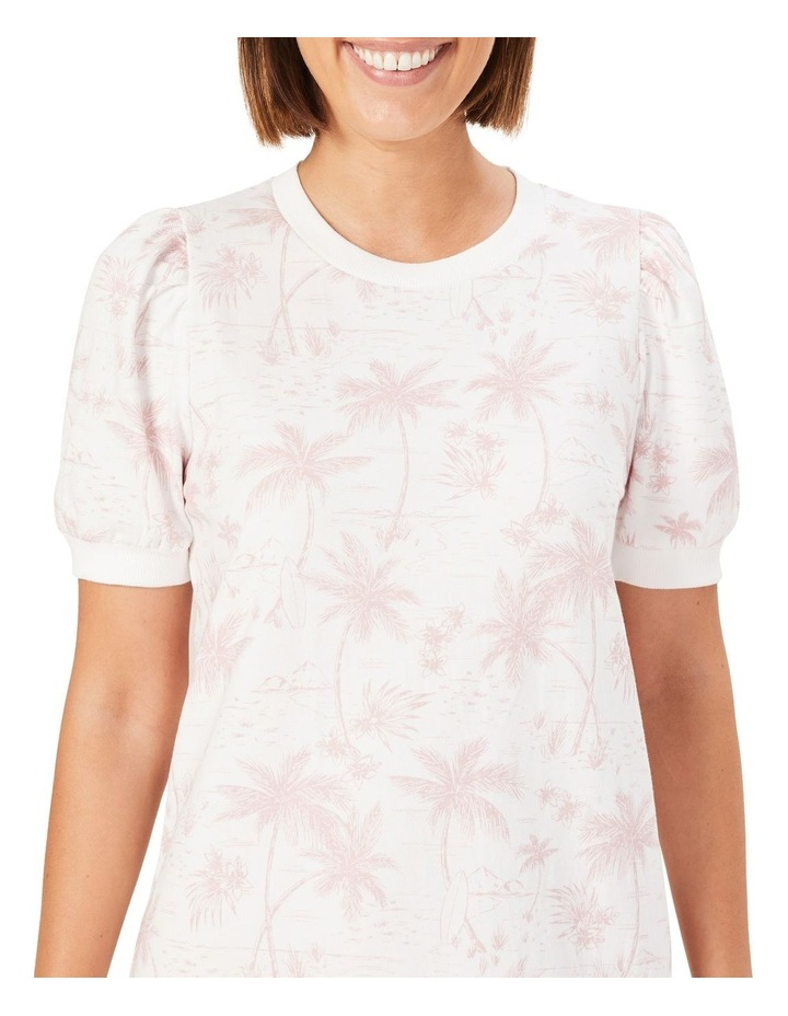 Tropical Print Sweat Dress image 4