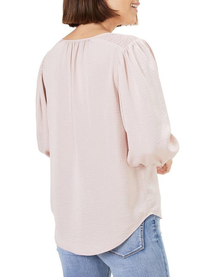 Shirred Button Through Shirt image 3