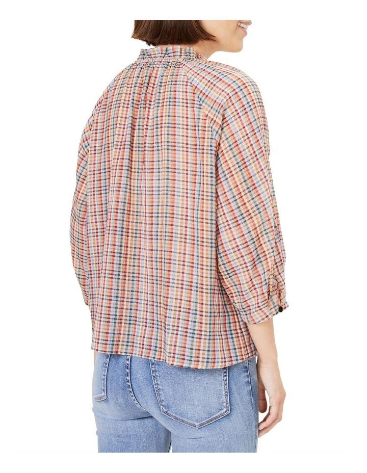 Rainbow Check Frill Shirt image 3