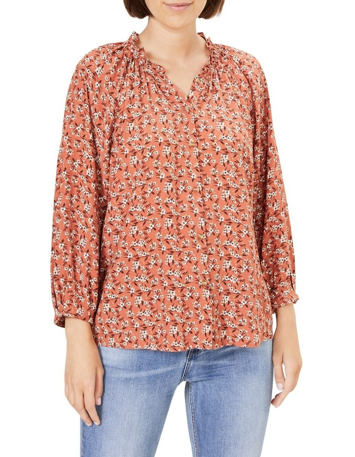 Floral Frill Top image 1