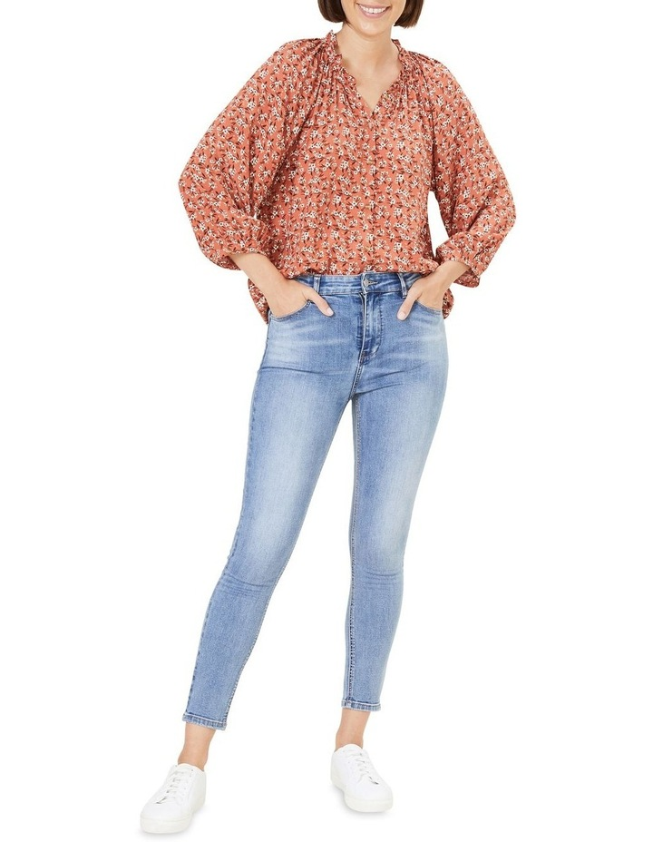Floral Frill Top image 2
