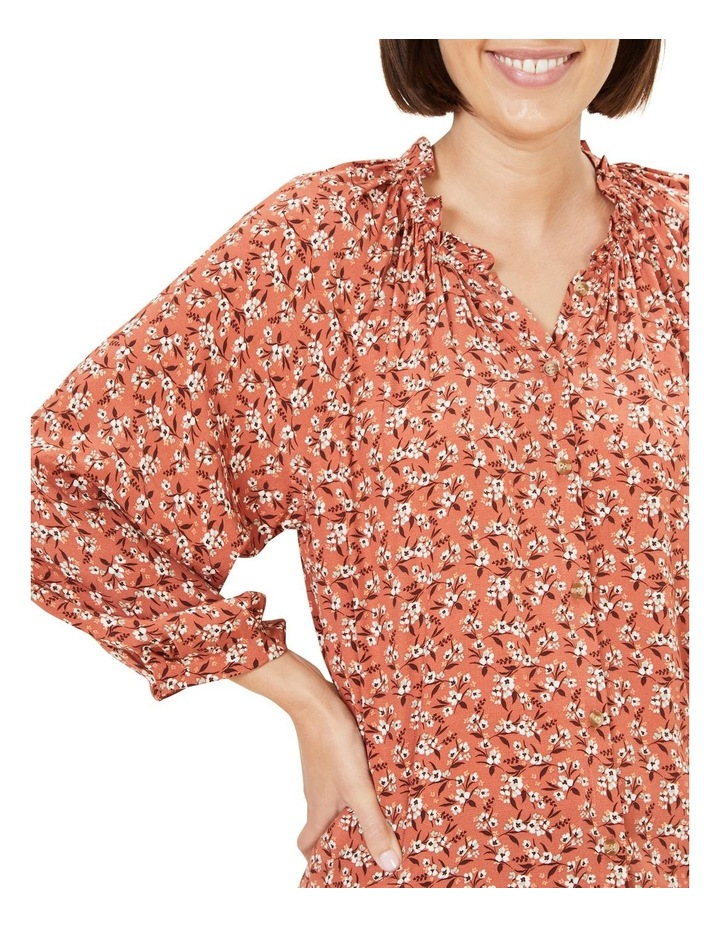 Floral Frill Top image 4