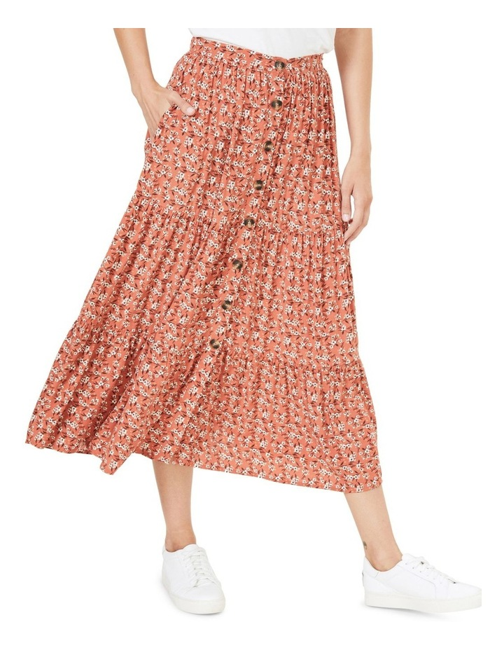 Floral Tiered Skirt image 1