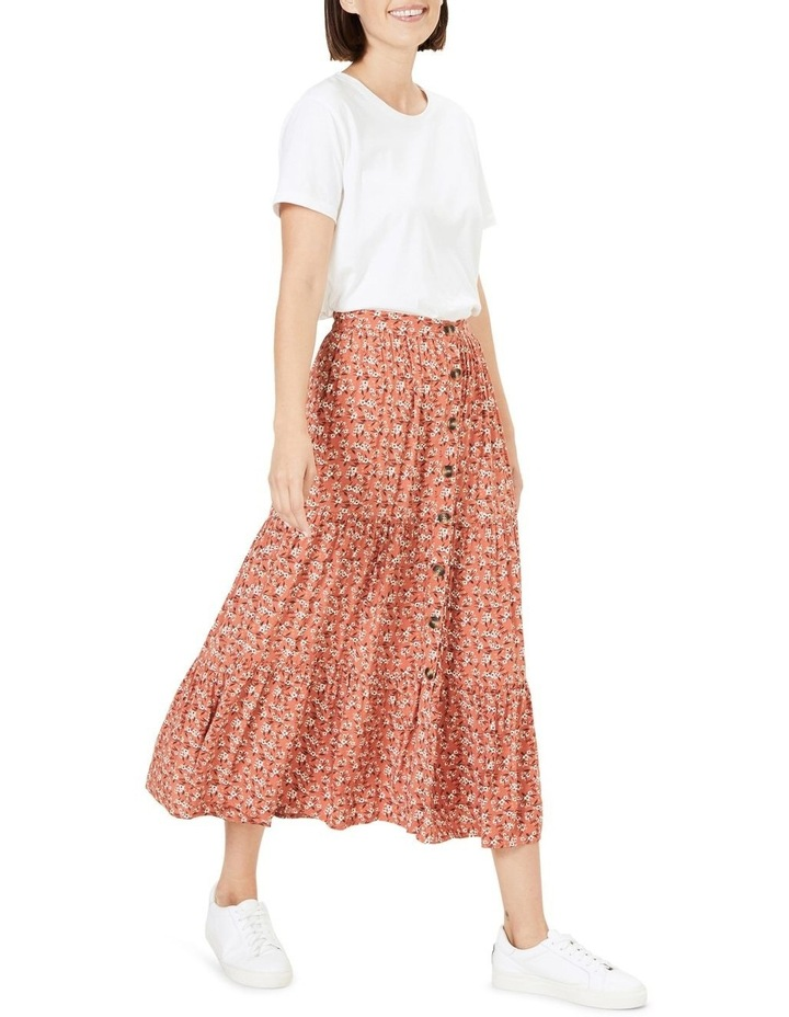 Floral Tiered Skirt image 2