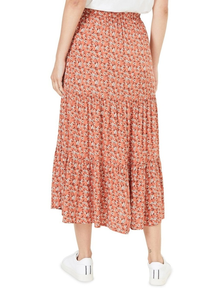 Floral Tiered Skirt image 3