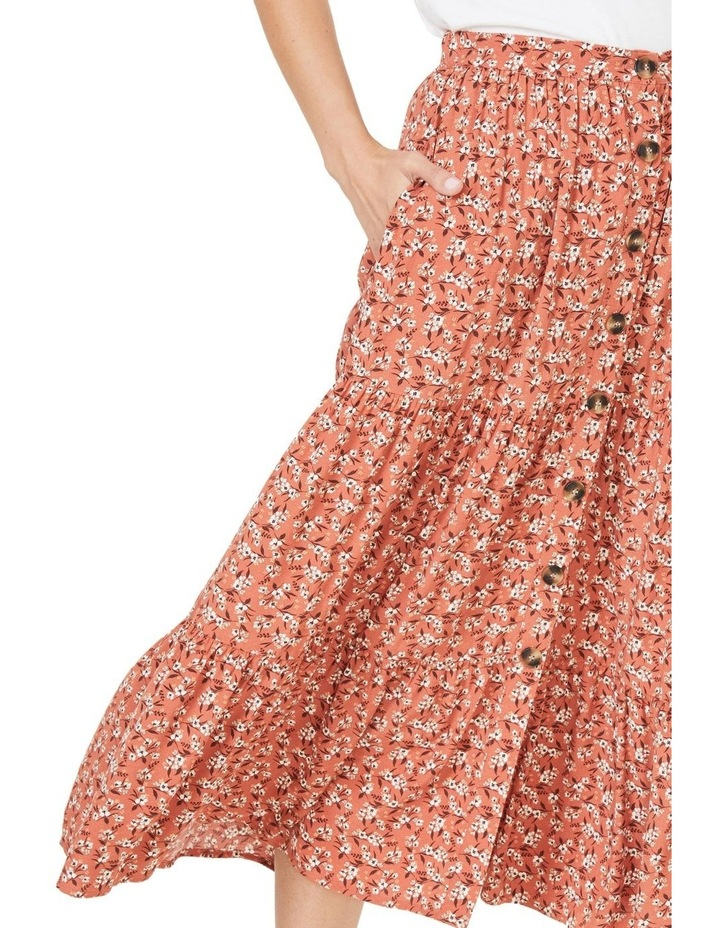 Floral Tiered Skirt image 4
