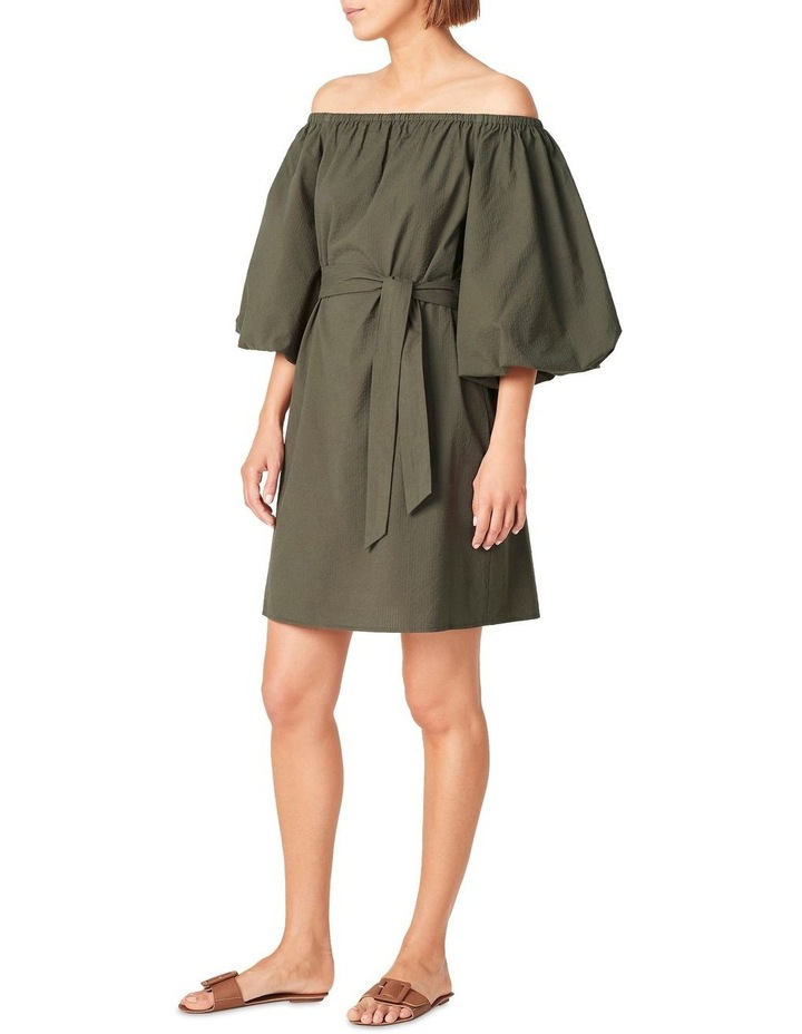 Off Shoulder Textured Dress image 2