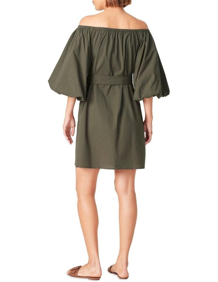 Off Shoulder Textured Dress image 3