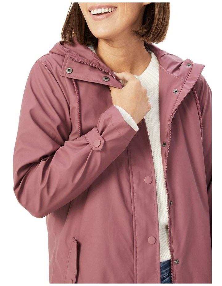 Lola Longline Raincoat image 4