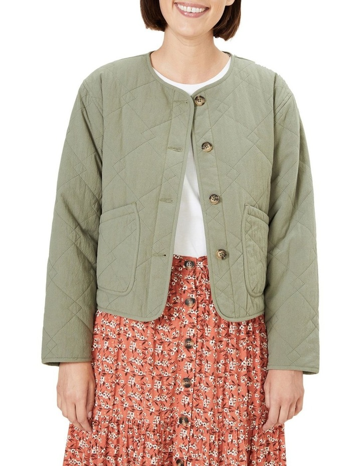 Cotton Quilted Jacket image 1