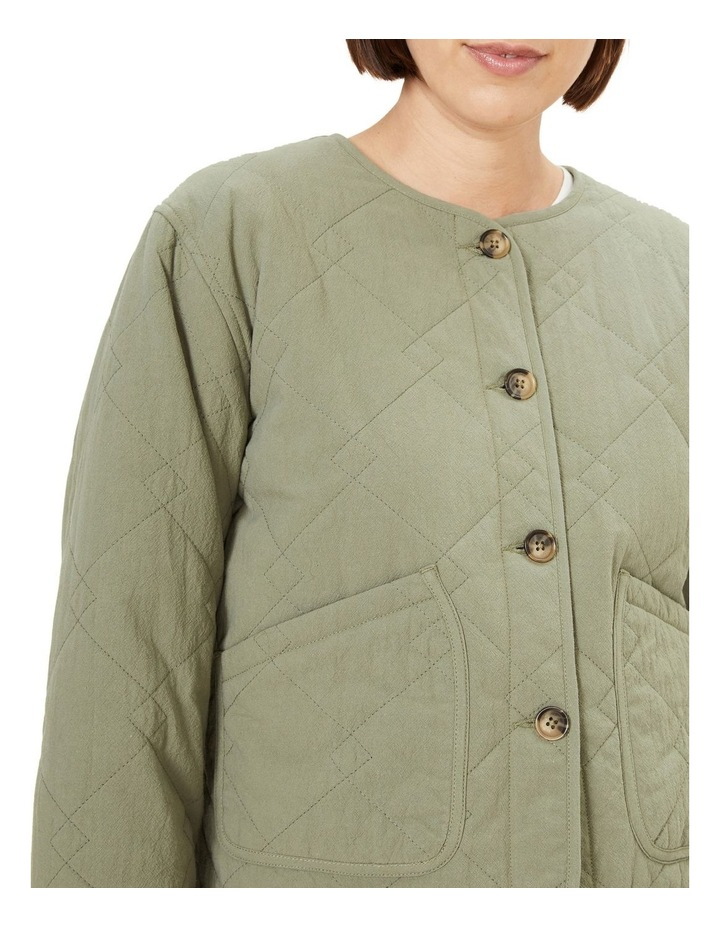 Cotton Quilted Jacket image 4