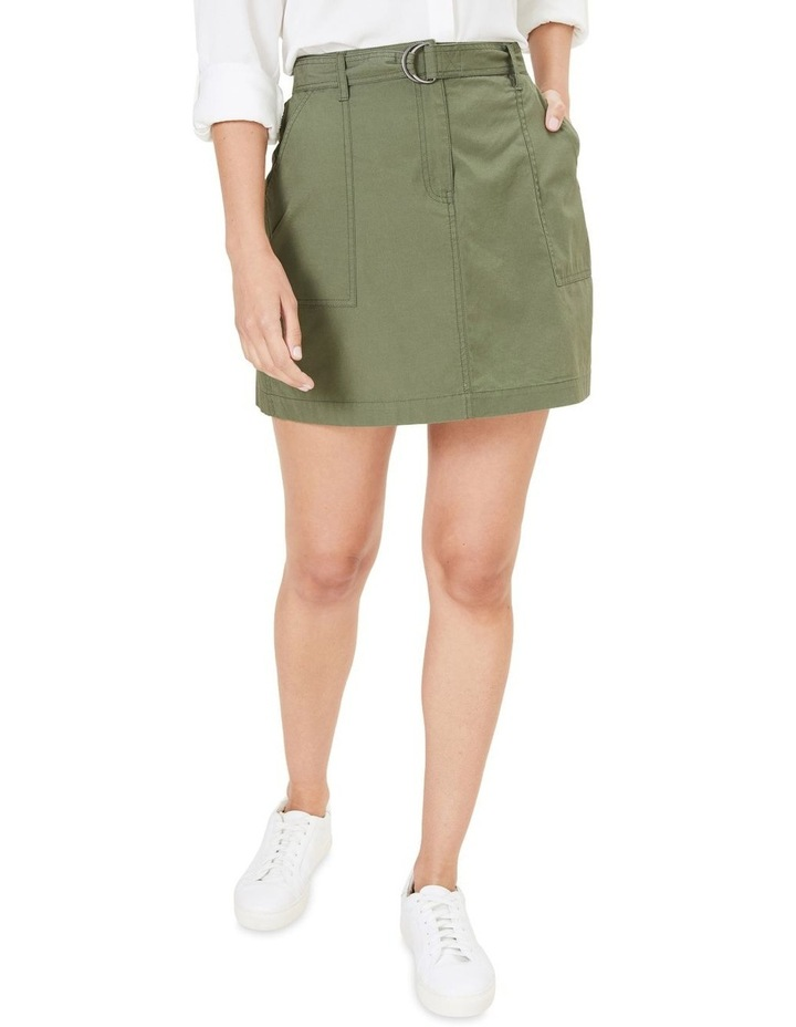 Utility Belted Skirt image 1