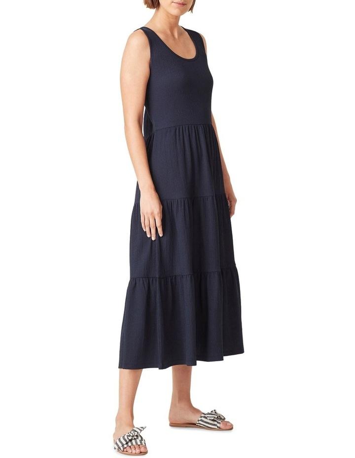Jersey Tiered Midi Dress image 2
