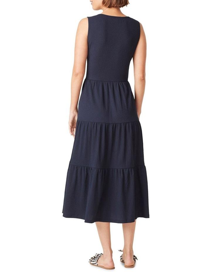 Jersey Tiered Midi Dress image 3