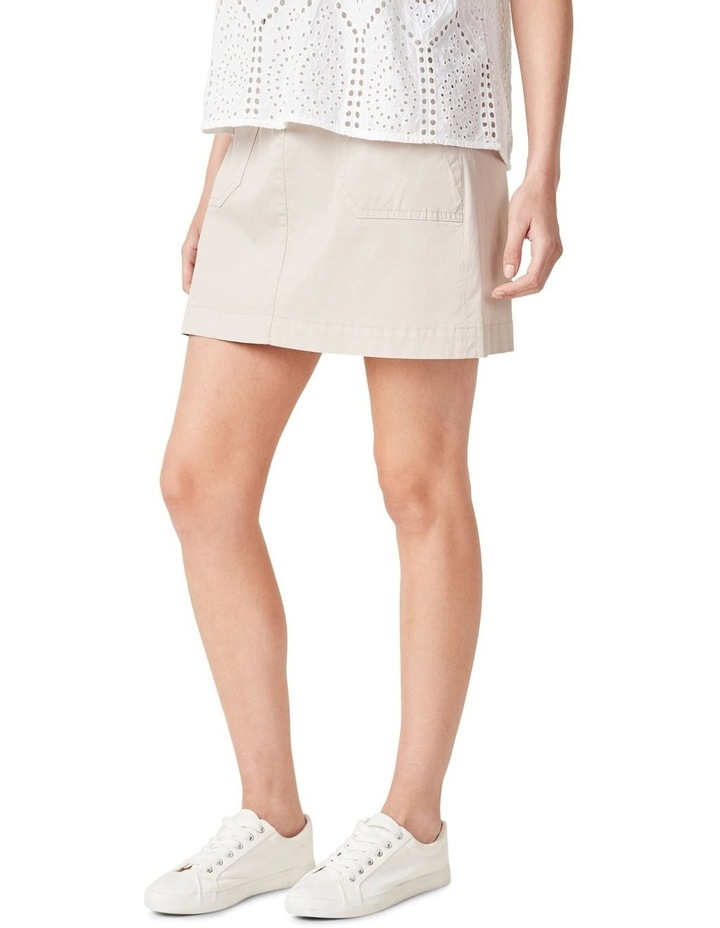 Cotton Utility Skirt image 1