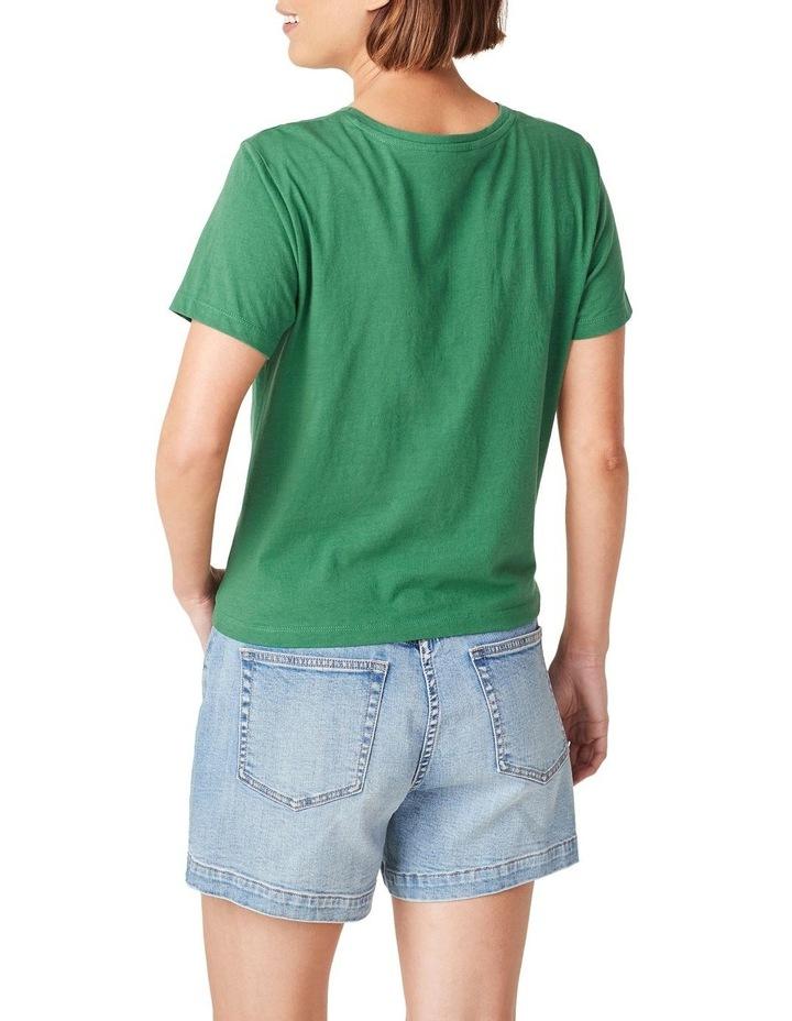 Tie Front T Shirt image 3