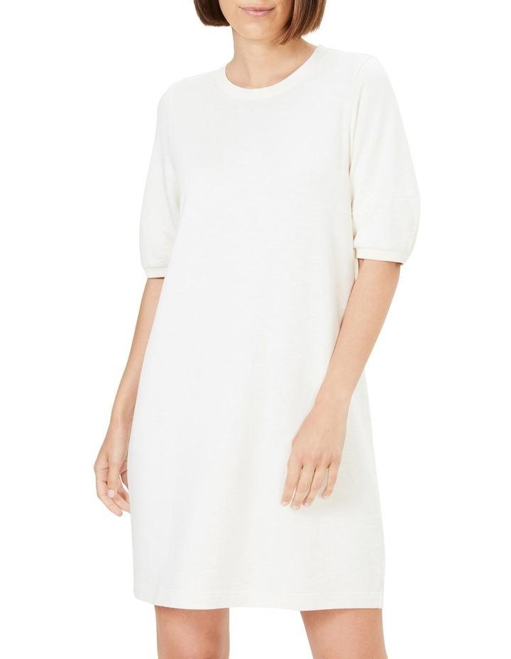 Puff Sleeve Sweat Dress image 1