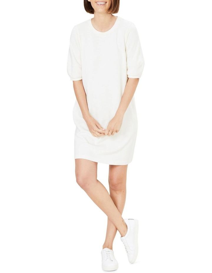 Puff Sleeve Sweat Dress image 2