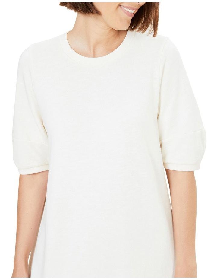 Puff Sleeve Sweat Dress image 4