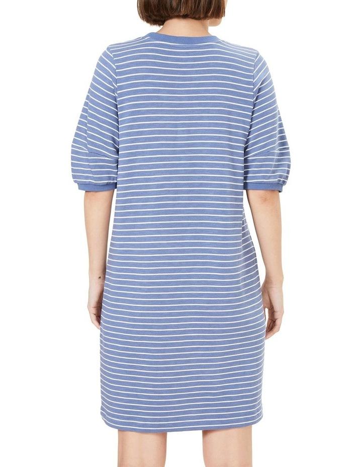 Puff Sleeve Sweat Dress image 3