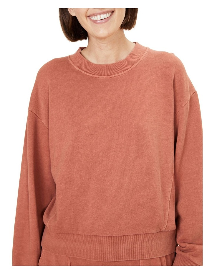 Vintage Wash Sweat Shirt image 4