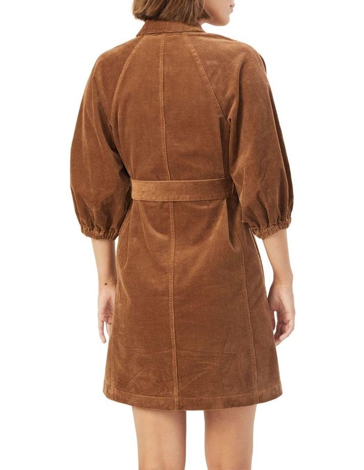 Corduroy Puff Sleeve Dress image 3