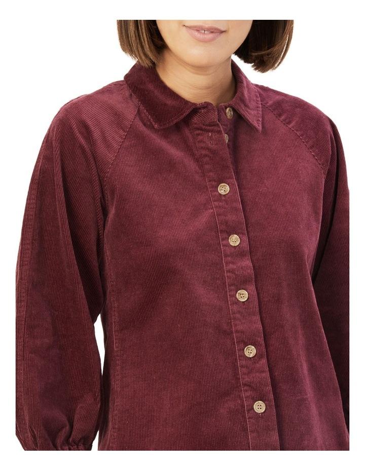 Corduroy Puff Sleeve Shirt image 4