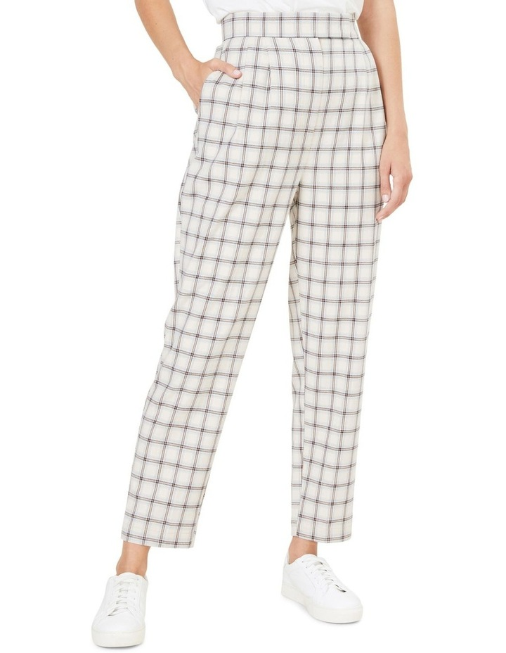 Tailored Check Pant image 1