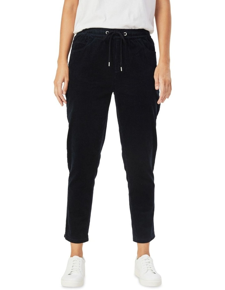 Cord Stretch Casual Pant image 1