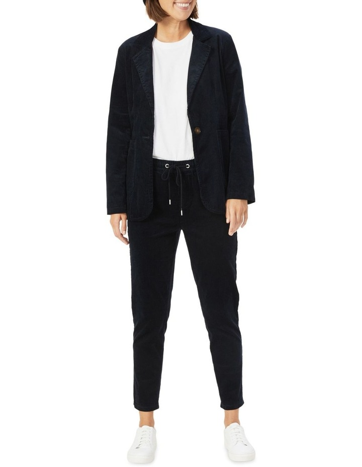 Cord Stretch Casual Pant image 2