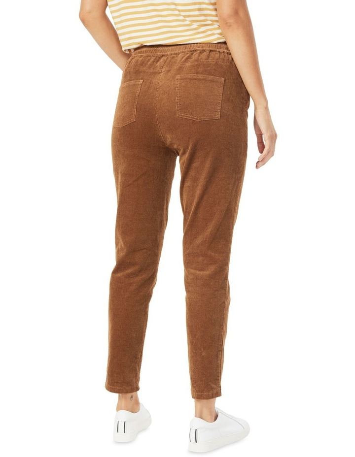 Cord Stretch Casual Pant image 3