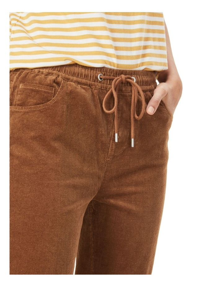 Cord Stretch Casual Pant image 4