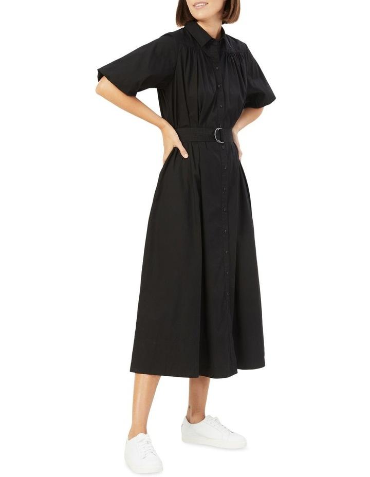 Puff Sleeve Midi Dress image 2