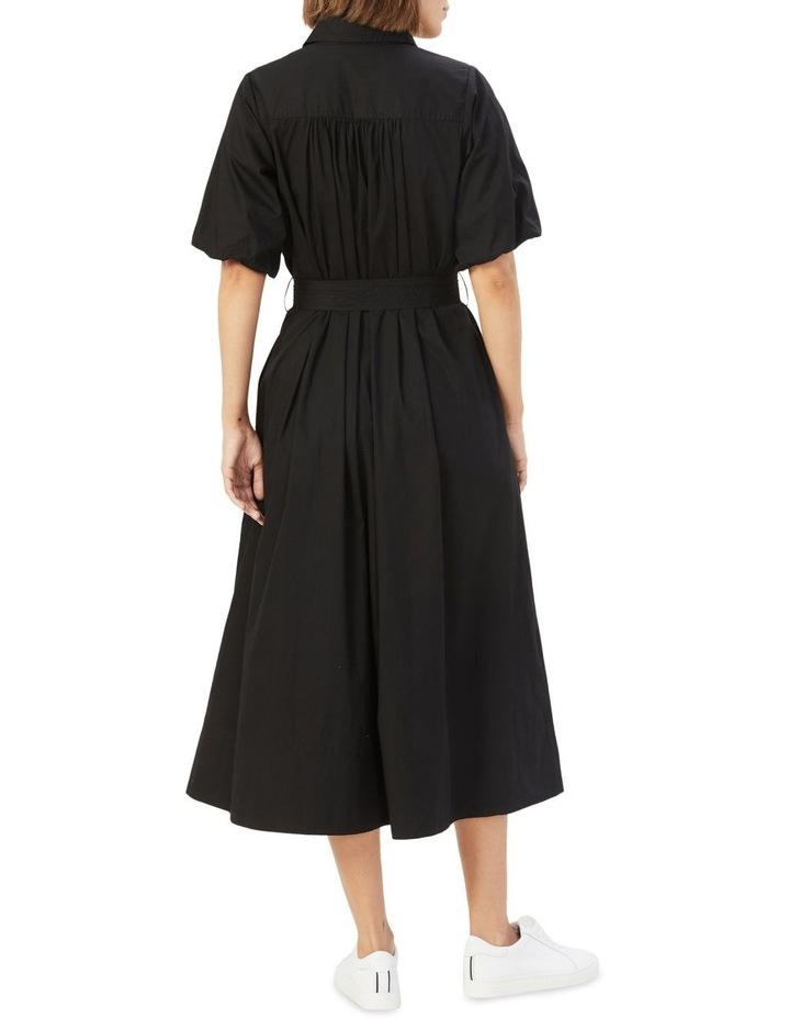 Puff Sleeve Midi Dress image 3