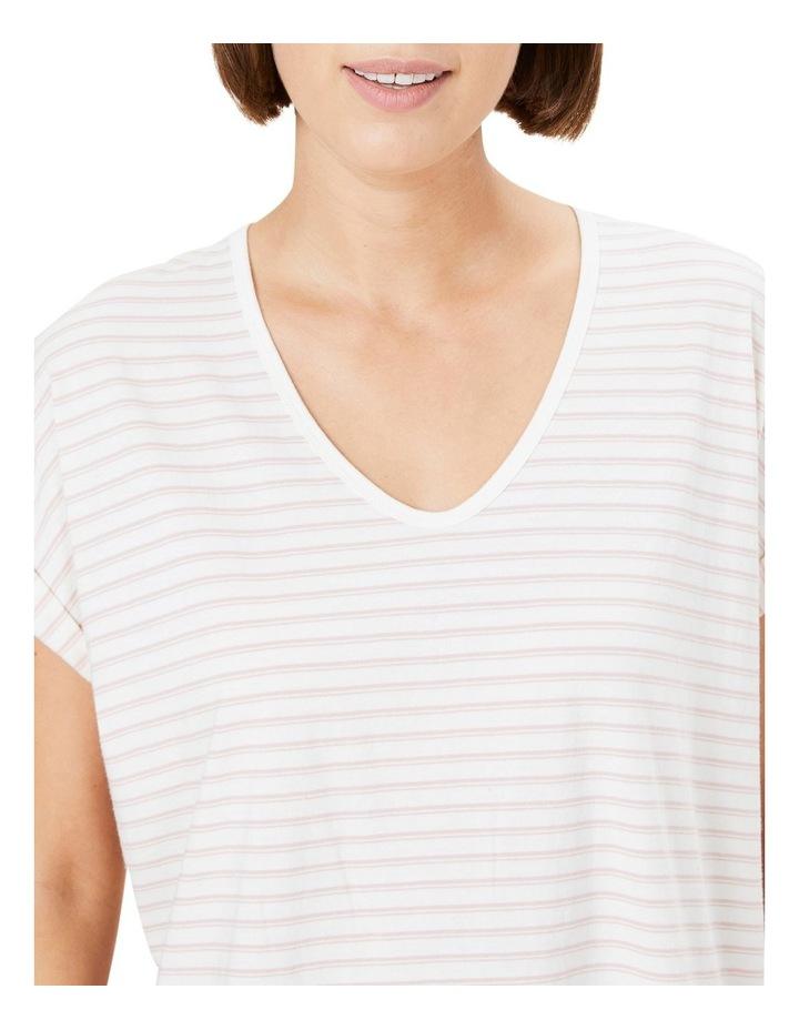 Organic Dipped Hem T Shirt image 4
