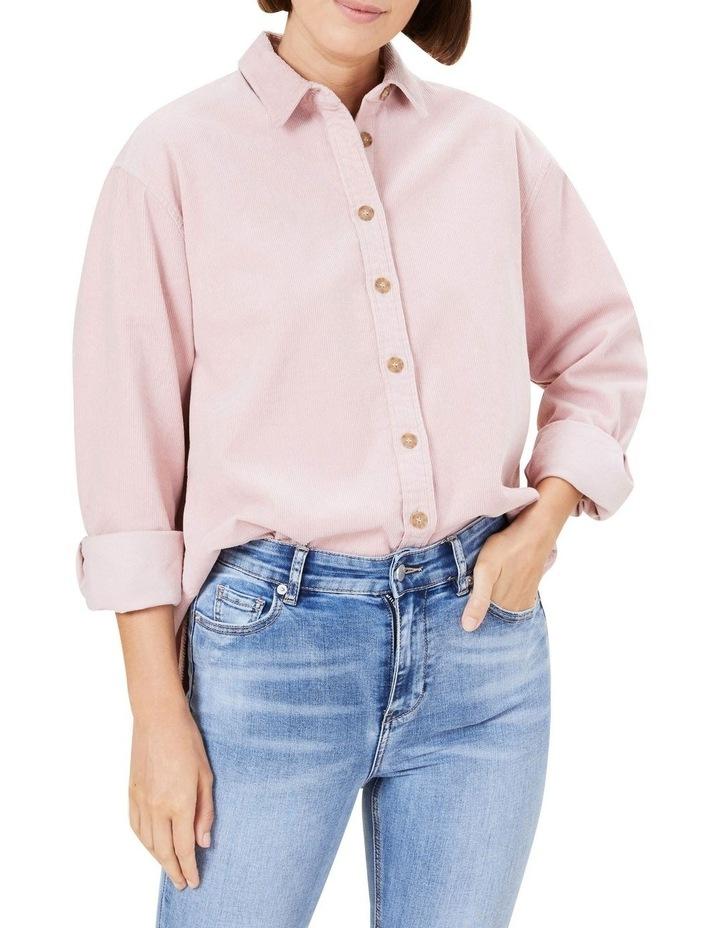 Boyfriend Cord Shirt image 1