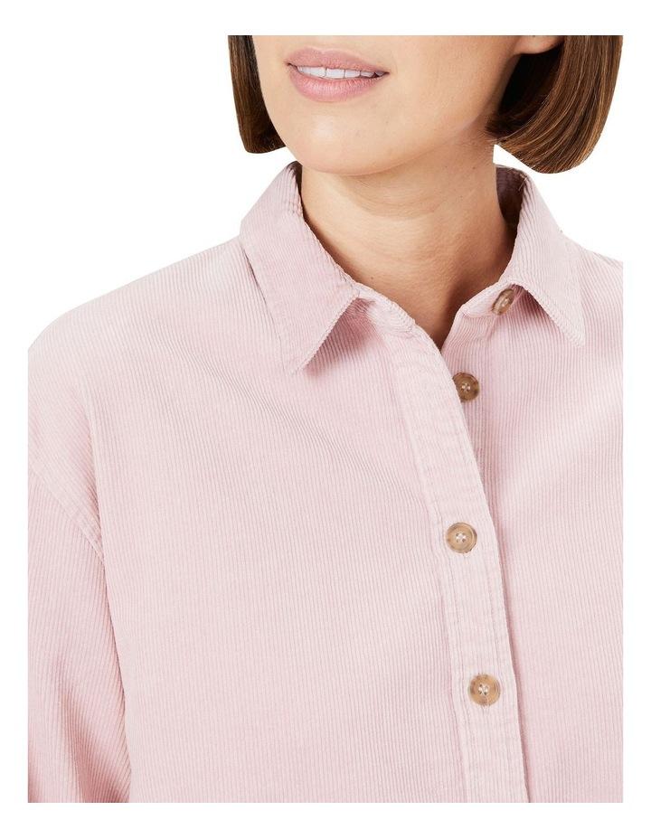 Boyfriend Cord Shirt image 4