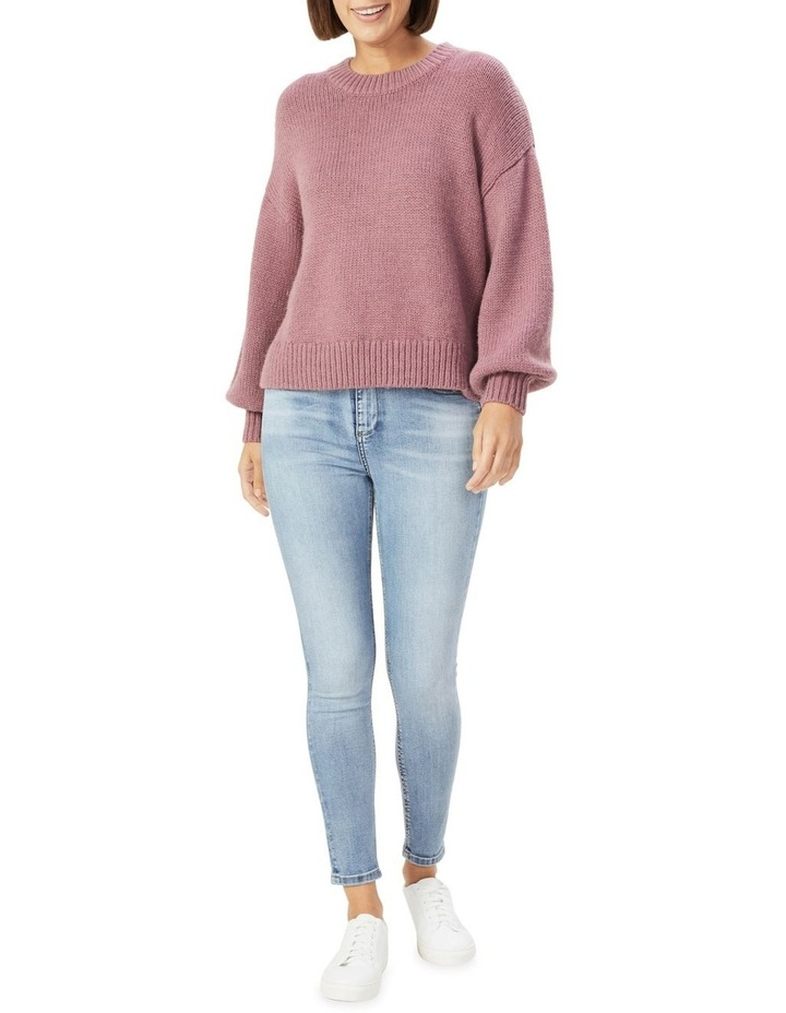 Slouchy Crew Neck Knit image 2