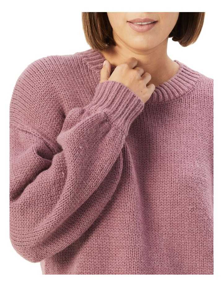 Slouchy Crew Neck Knit image 4