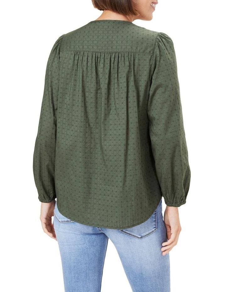 Cotton Jacquard Blouse image 3