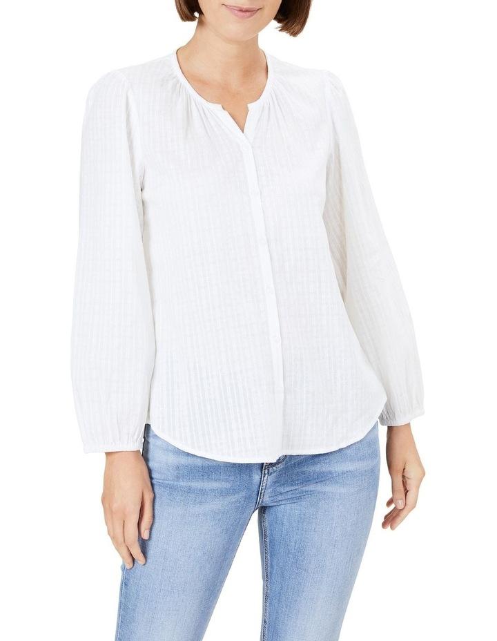 Cotton Jacquard Blouse image 1