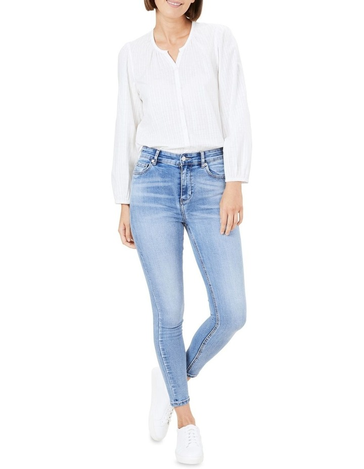 Cotton Jacquard Blouse image 2