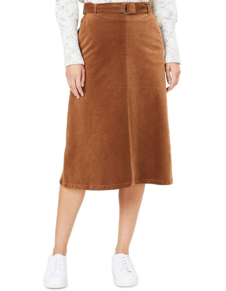 Cord Midi Skirt image 1