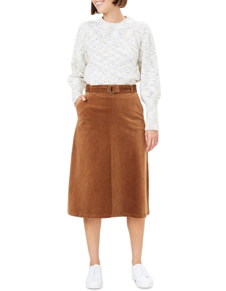Cord Midi Skirt image 2