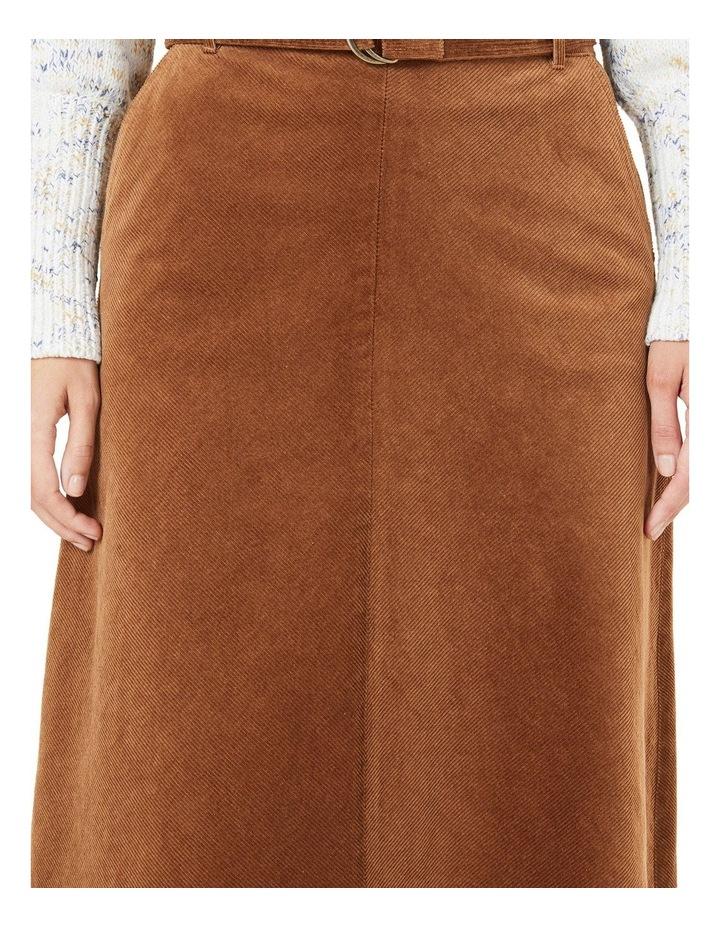 Cord Midi Skirt image 4
