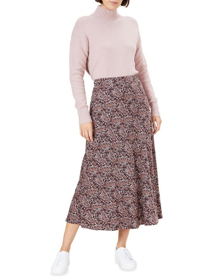 Paisley Midi Skirt image 2